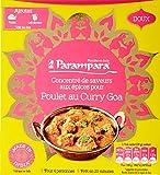Parampara - Concentré d'Épices pour Poulet au Curry Goa - Lot de 8