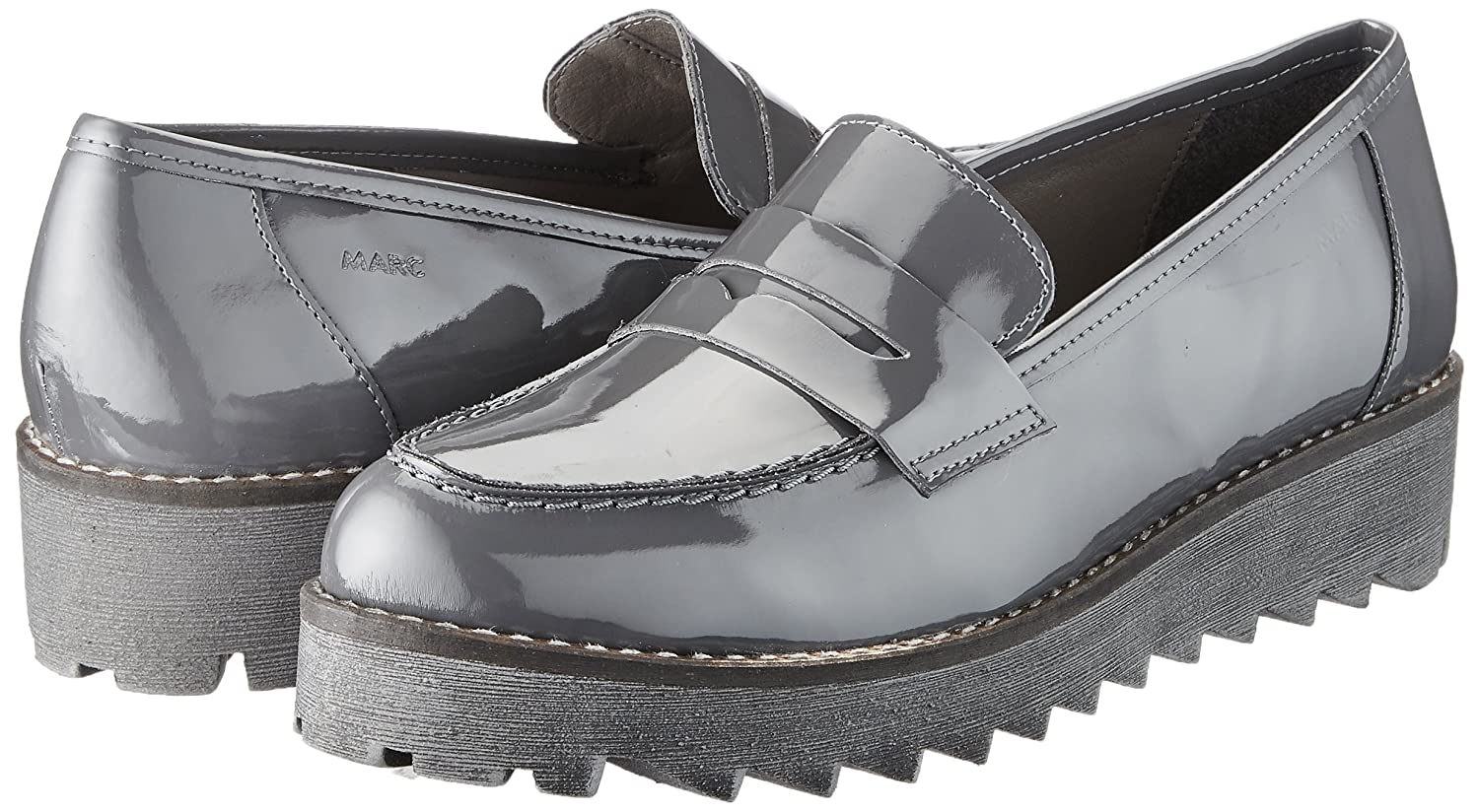Marc Shoes Women's Katy Derbys, Grey (Anthracite), 8 UK: Amazon.co.uk: Shoes  & Bags
