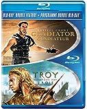 Troy/ Gladiator (DBFE) [Blu-ray] (Bilingual)
