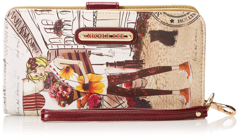 Nicole Lee Gitana Vintage Print prt4863b Cartera, Beige (Garden Flower), Talla única: Amazon.es: Zapatos y complementos