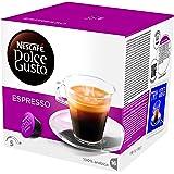 NESCAFÉ DOLCE GUSTO ESPRESSO, caffè espresso, 16 capsule (16 tazze)