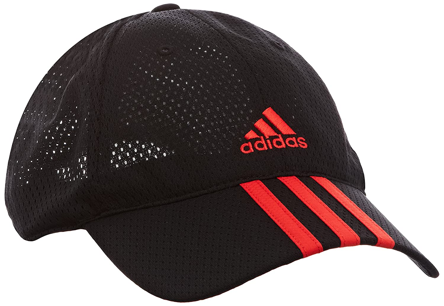 9f4f1542616 adidas Climacool Children s Cap with 3 Stripes and Mesh Black Black Hi-Res  Red Size One Size  Amazon.co.uk  Sports   Outdoors