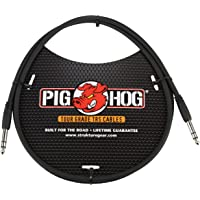"""Pig Hog PTRS03 High Performance 1/4"""" TRS Instrument Cable, 3 Feet"""