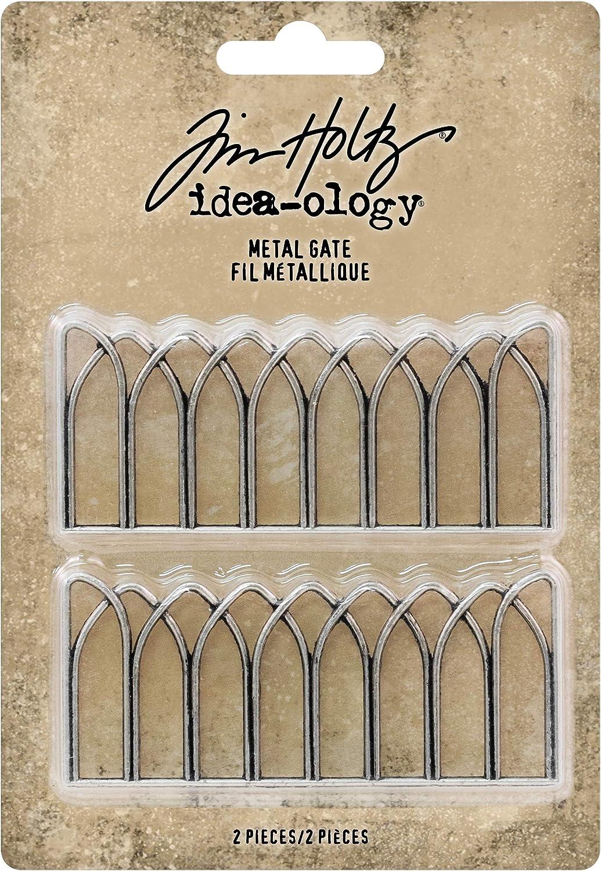 Silver Advantus Metal Gates Decorative Ornaments Tim Holtz