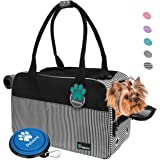 PetAmi Airline Approved Dog Purse Carrier | Soft-Sided Pet Carrier for Small Dog, Cat, Puppy, Kitten | Portable Stylish…
