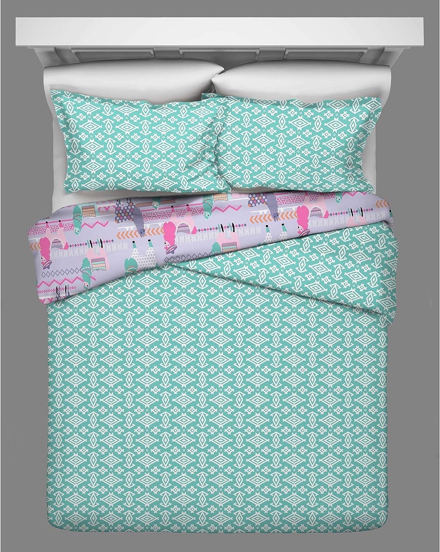 Waverly Kids 18234beddtwnmul Reversible Comforter Set Multi Twin Home Kitchen Kolenik Comforter Sets