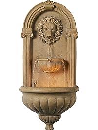 Kenroy Home 50026COQN Regal Wall Fountain.