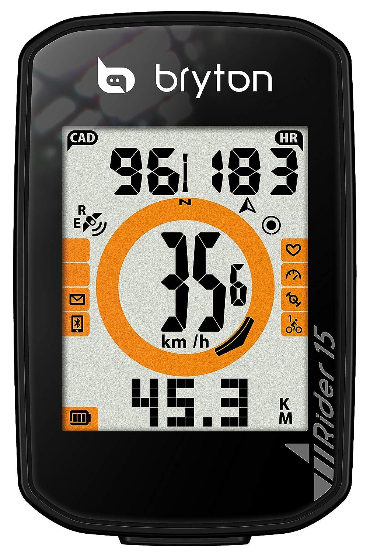 Bryton Rider 15 Computer GPS Cycling Black BR15EN
