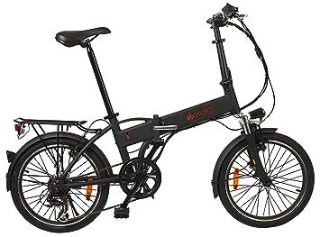 Snooper Pedelec bicicleta plegable Strada – Negro – S de Bike Rueda de bicicleta plegable,