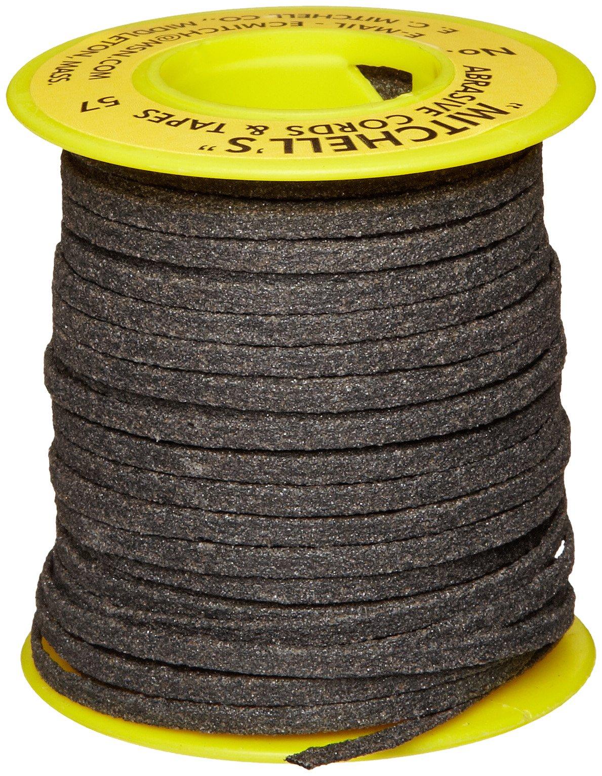 Mitchell Abrasives 57 Flat Abrasive Tape, Aluminum Oxide 150 Grit 1/8'' Wide x 50 Feet
