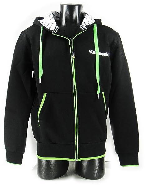 Kawasaki - Chaqueta - para hombre Negro schwarz grün weiß ...