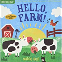 Indestructibles: Hello, Farm!: Chew Proof · Rip Proof · Nontoxic · 100% Washable (Book for Babies, Newborn Books, Safe…