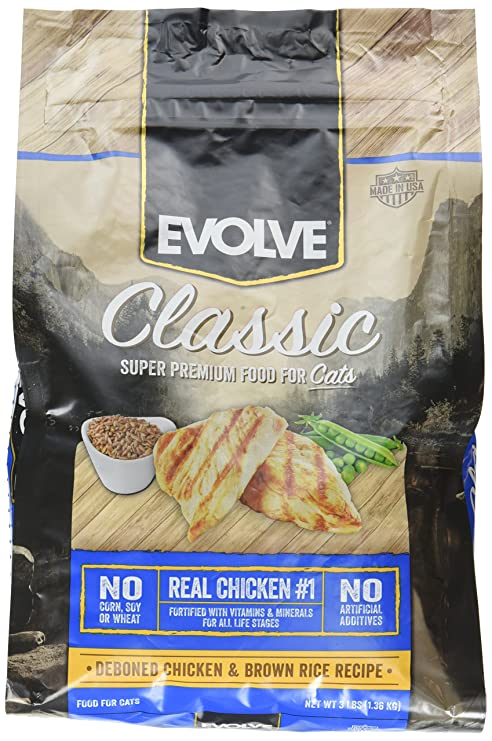Evolve Maintenance Cat Food - 3Lb