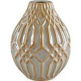 "Modern Family Living Sapota AMZ17-15A Décor - Table Top (vases, bookends) 5""dia x 6.25""h"