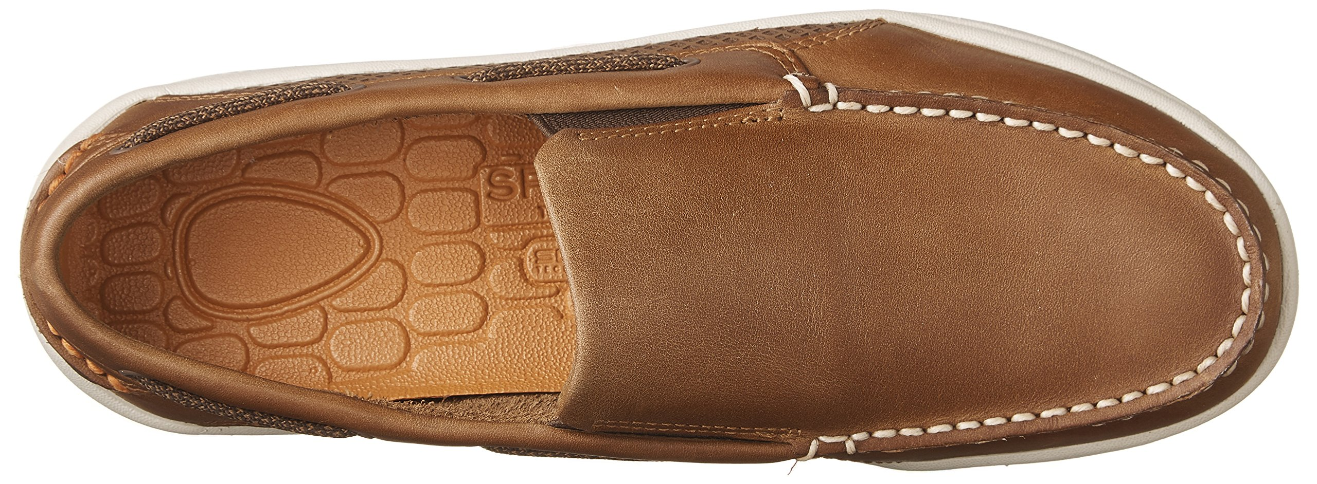 Sperry Top-Sider Men's Gamefish Slip On Boat Shoe, Dark Tan, 10.5 M US by Sperry Top-Sider (Image #8)