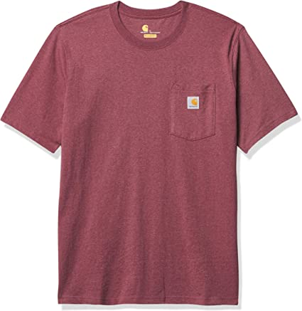 TALLA M. Carhartt Pocket Short-Sleeve T-Shirt Camiseta para Hombre