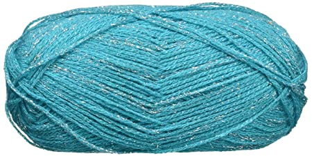 Glam Stripes Yarn Teal Sold As A Pack Of 6 Amazon Co Uk Kitchen
