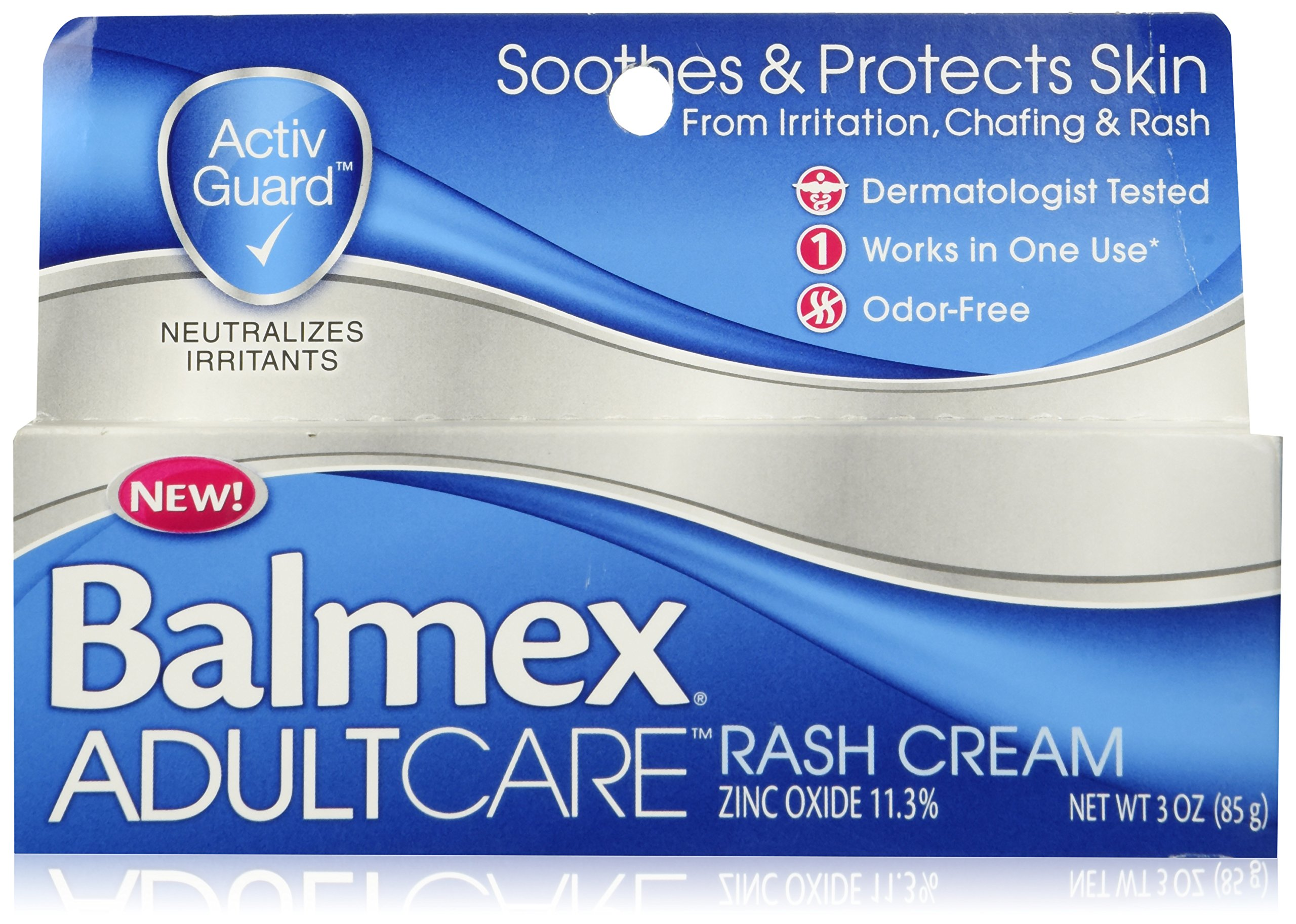 Balmex Adult Care Rash Cream, 3 oz