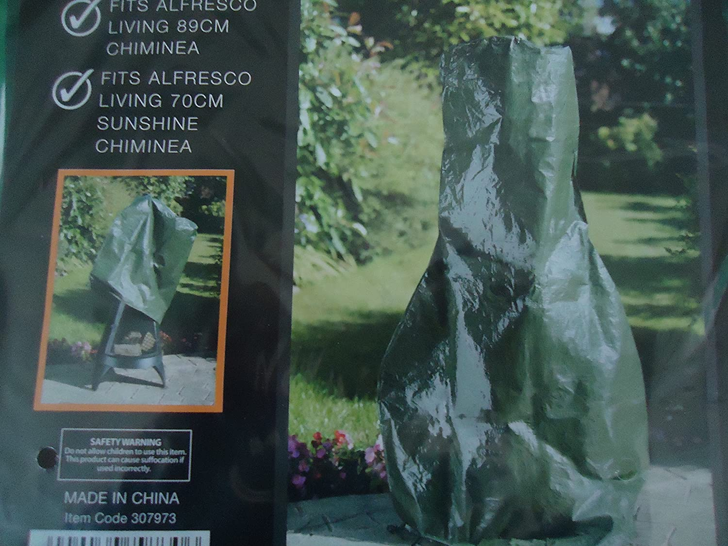 Chiminea Cover 91cm Height - Strong & Durable - BRAND NEW / PACKAGED - FREE DELIVERY. Alfresco Living