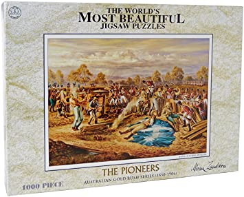 CROWN and Andews The Pioneers Battle at Eureka Stockade Australian Gold  Rush Series Jigsaw Puzzles
