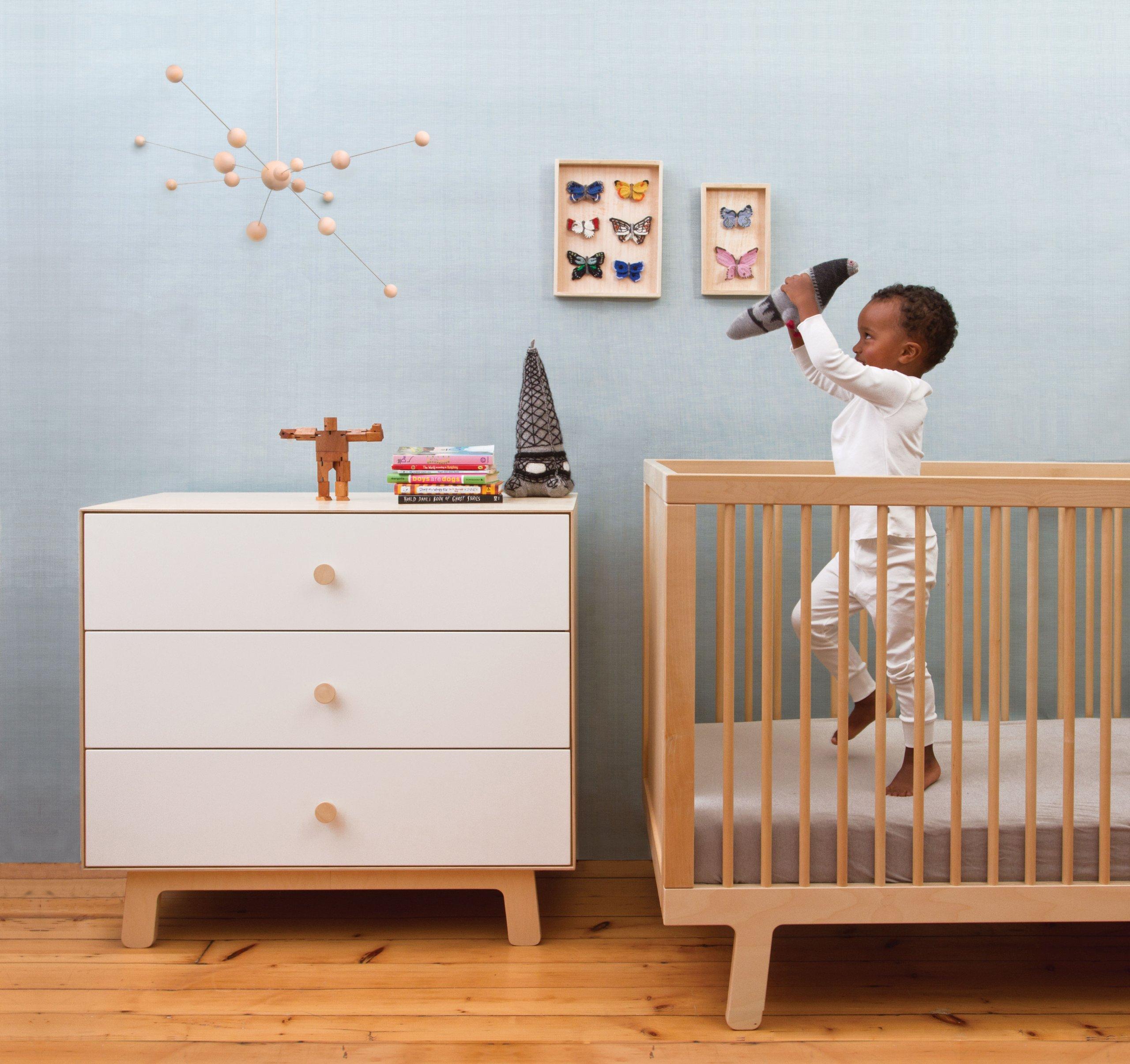 Oeuf Merlin Sparrow Dresser - Birch/White (2 of 2) by Oeuf