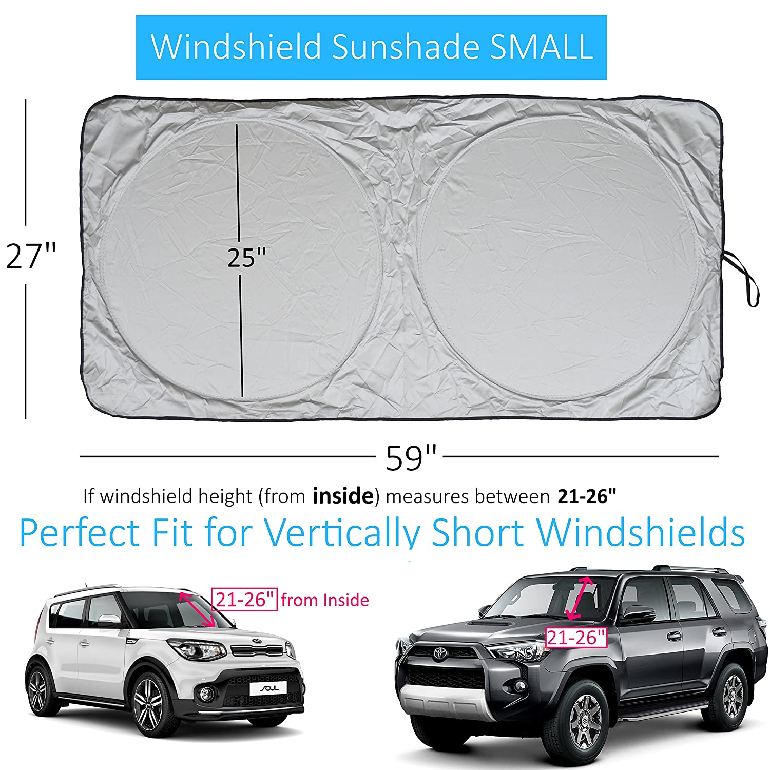 S10 Windshield Dimensions Sun Visor 1991 Chevy Wiring Diagram Shade Easy Read Size Chart For Car Suv 1500x1500