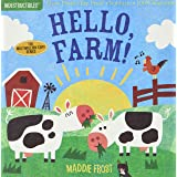 Indestructibles: Hello, Farm!: Chew Proof · Rip Proof · Nontoxic · 100% Washable (Book for Babies, Newborn Books, Safe to Che