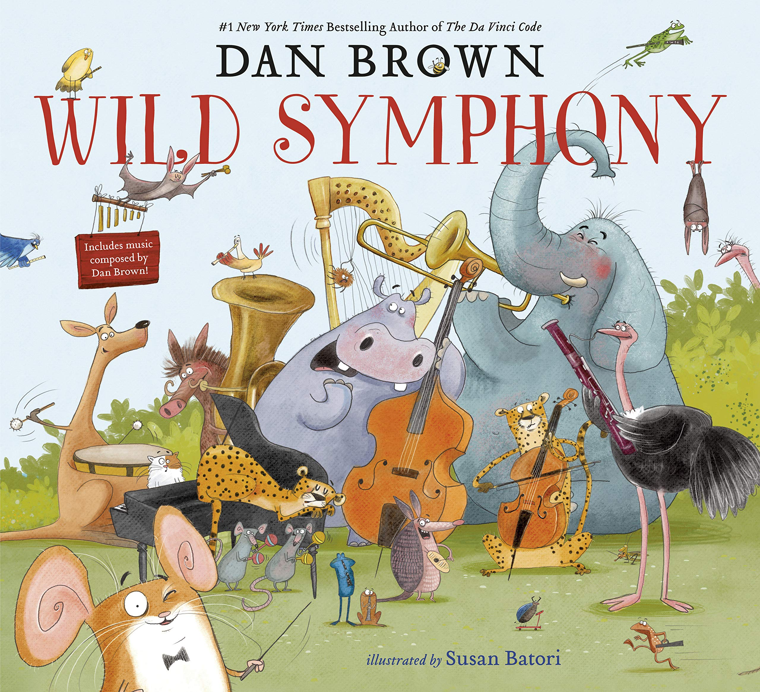 Wild Symphony: Brown, Dan, Batori, Susan: 9780593123843: Amazon.com: Books