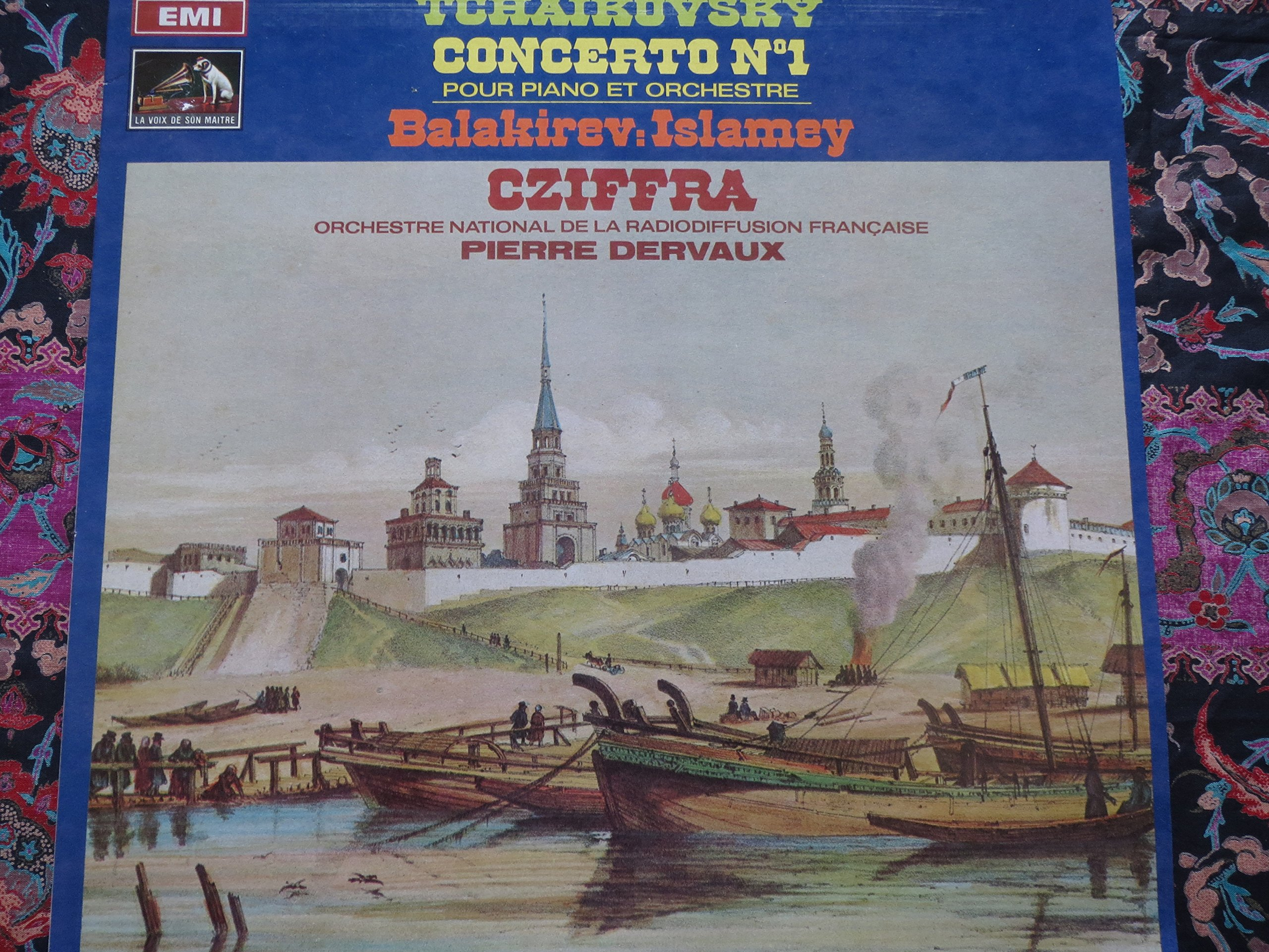 Gyorgy Cziffra: Tchaikovsky Piano Concerto No. 1 / Balakirev Islamey (Oriental Fantasy) / Orchestre National De La Radiodiffusion Francaise, Conductor Pierre Dervaux