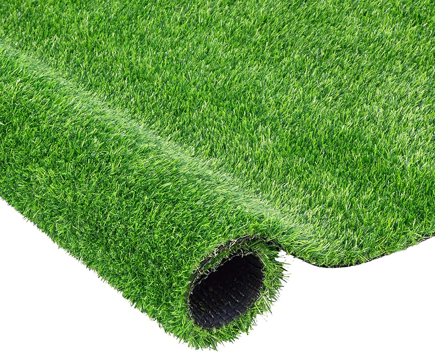 VIVOSUN 4 x 7 ft Artificial Grass Rug with Drain Holes,Soft Realistic Grass Turf for Dogs and Patio Garden Décor