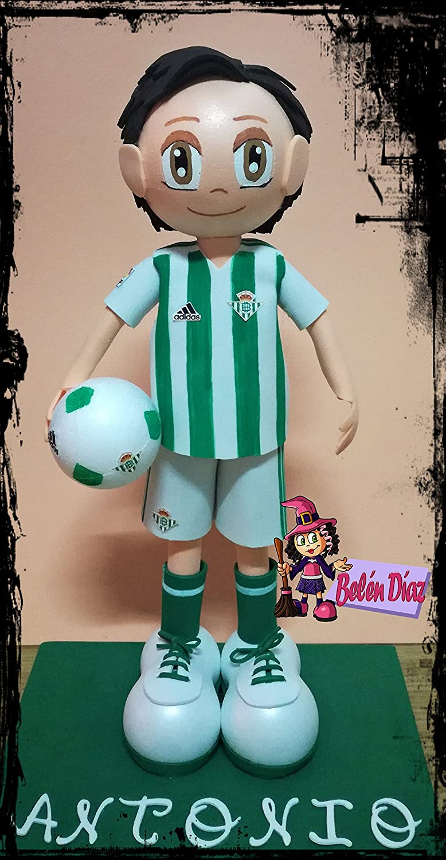 Muñeco fofucha Real Betis Balompié 26 cms. fútbol: Amazon.es: Handmade