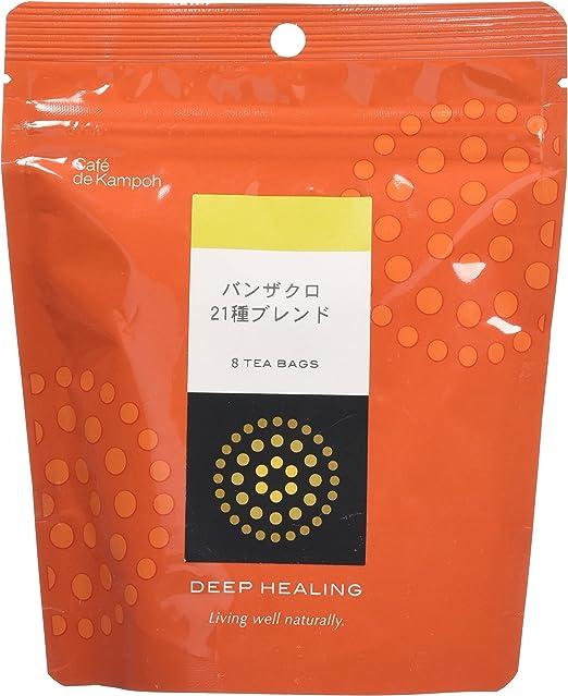 Café de kampohシリーズ DEEP HEALING バンザクロ21種ブ レンド 3g×8包