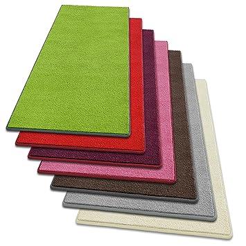 Teppich läufer grün  Teppich Läufer Noblesse | flauschig getufteter Flor in modernen ...