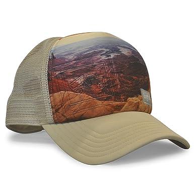 6027765dbb2088 bigtruck Photography Series Original Trucker Hat, Khaki Mesa, Adult ...