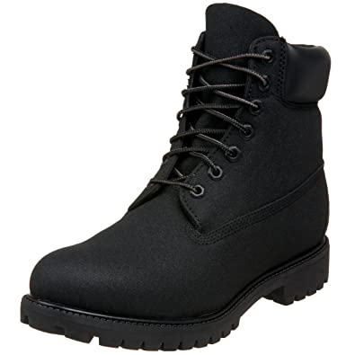 79029a59dc8 Timberland Botte 6 Inch Premium Scuffproof Boot - Homme - Black 34553 -  Pointure 46