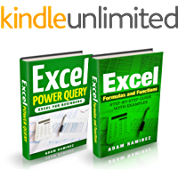 Excel Bundle: Excel Formulas and Functions,Step-By-Step Guide with Examples and Excel Power Query,Excel for Beginners (English Edition)