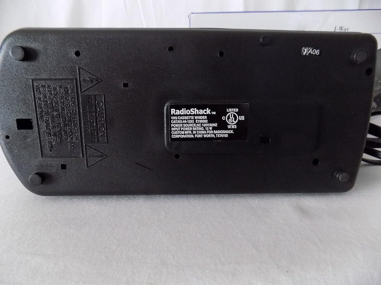Radio Shack VHS videotape rewinder