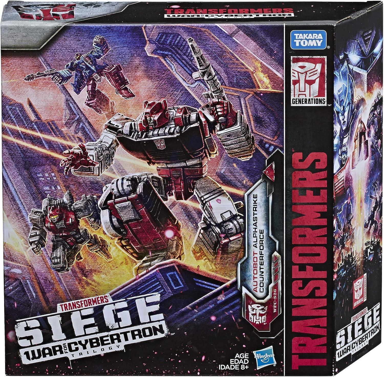 Transformers Siège WFC-S27 Decepticon phantomstrike Escadron Skywarp