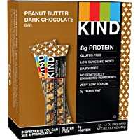 12-Pack Kind Plus Peanut Butter Dark Chocolate Protein Bars