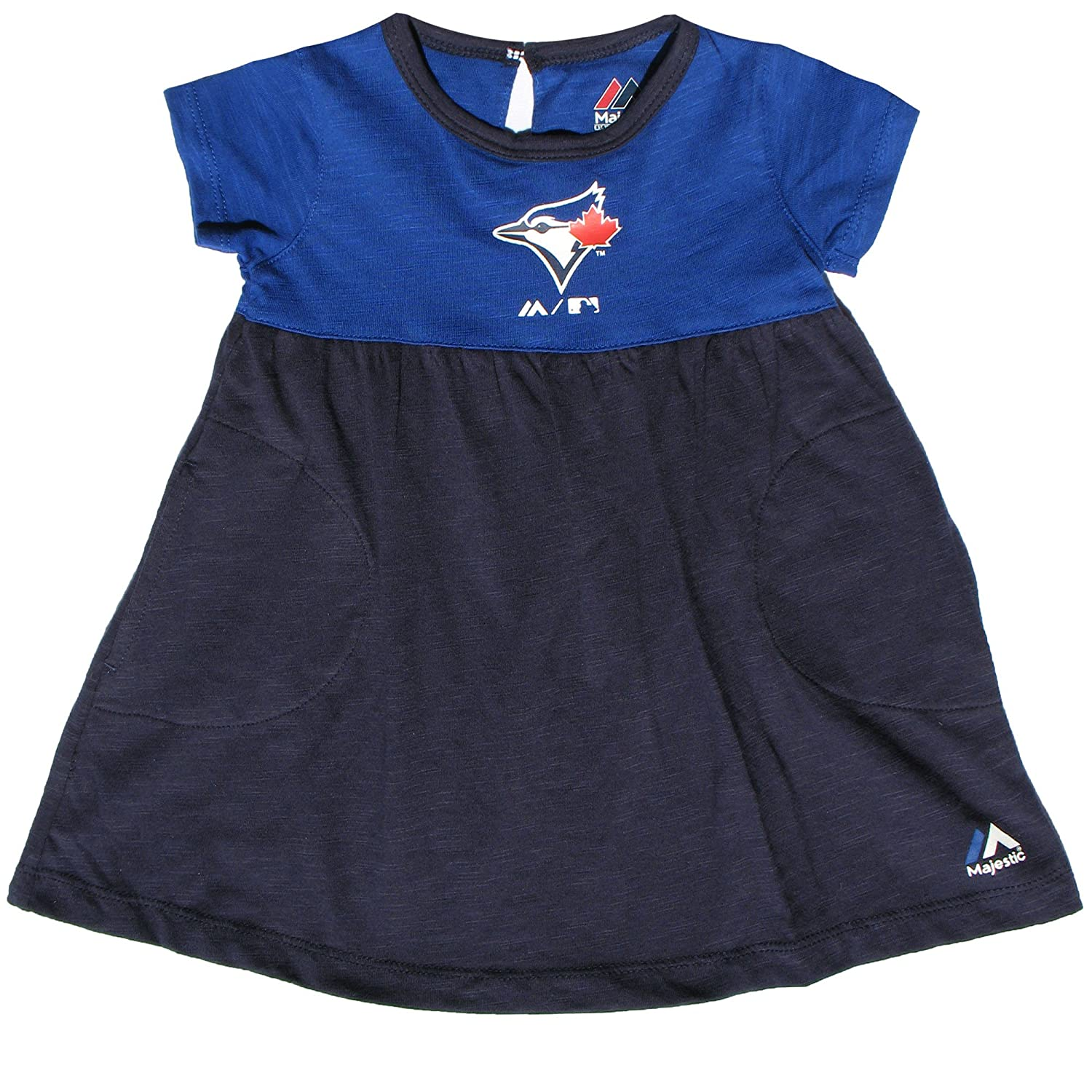 Toronto Blue Jays Infant Girls 7th Inning Twirl Dress Majestic