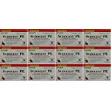 Sudogest PE Generic for Sudafed PE Nasal Decongestant Phenylephrine HCl 10mg 36 Tablets Per Box PACK of 12 Boxes Total 432 Tablets