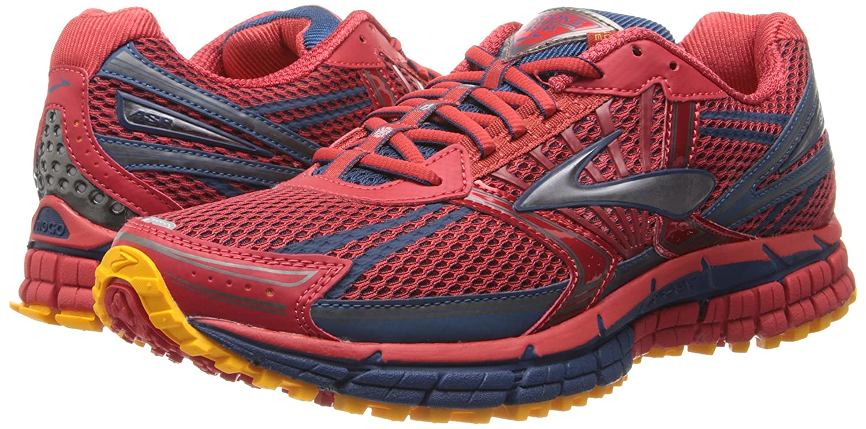 726d6718461fc BROOKS Adrenaline Asr 11 M Mens Running Shoes Adrenaline Asr 11 M  Mars Poseidon Mango 10.5 UK