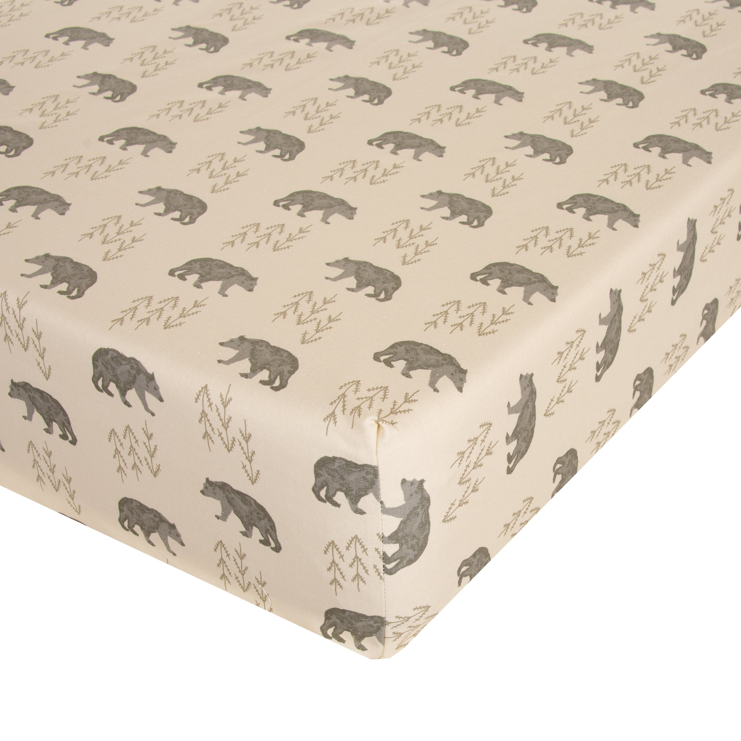Glenna Jean Fairbanks Crib Sheet Fitted 28''x52''x8'' Nursery Standard