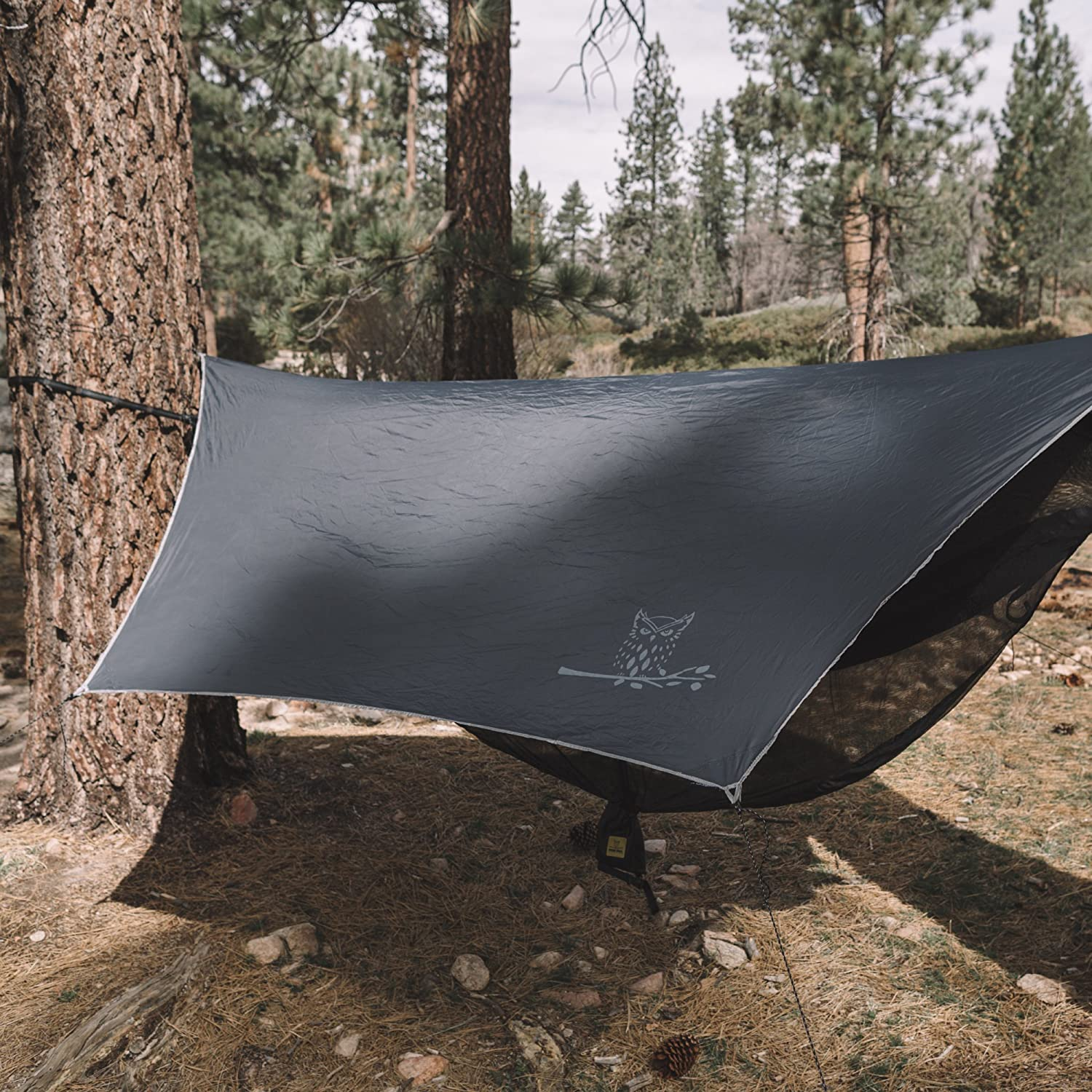 5 Colors The WiseFly Premium 11 x 9 ft Large Hex Waterproof Ripstop Nylon Camping Shelter Canopy Rainfly Wise Owl Outfitters Hammock Rain Fly Tent Tarp Lightweight Camp Gear Accessories