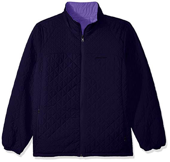 fb33e5052 Arctix Women's Madison Ultra Lite Reversible Quilted Jacket, Navy/Violet,  X-Small