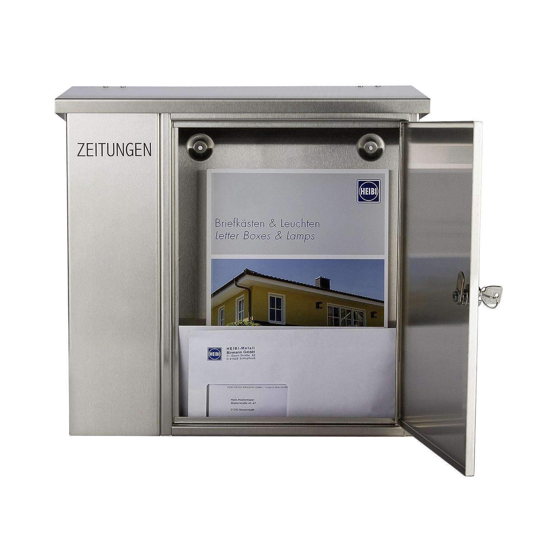 91U-j5OlEpL._SL1500_ Erstaunlich Briefkasten Weiß Mit Zeitungsrolle Dekorationen