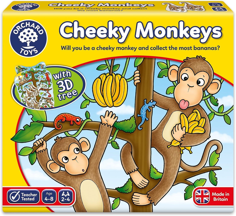 Orchad toys Cheeky monkeys (Juego en ingles incluye instrucciones ...
