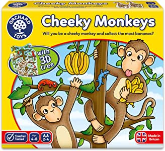 Orchard Toys OC068 - Cheeky Monkeys Game