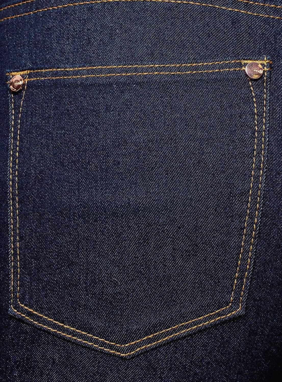 oodji Ultra Donna Jeans Skinny Cropped a Vita Alta