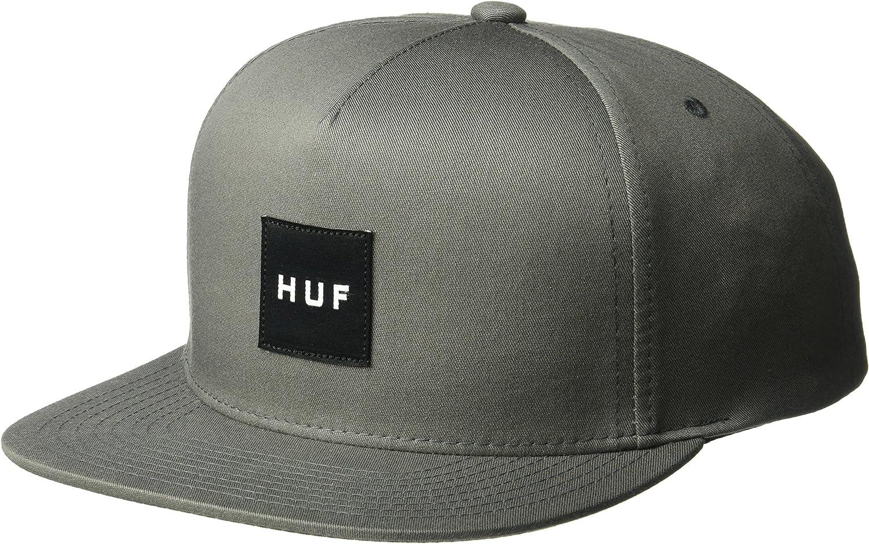 HUF Gorra Box Logo Gris - Ajustable: Amazon.es: Ropa y accesorios